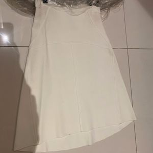 White BCBG Skirt